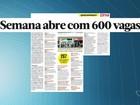 Semana começa com mais de 600 vagas de emprego no ES