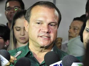 Wellington Fagundes, senador eleito de Mato Grosso (Foto: Renê Dióz/G1)