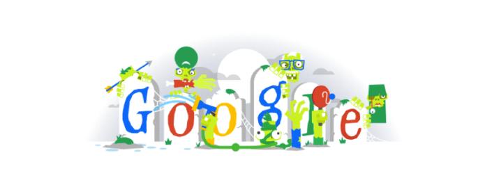 Doodle do Dia das Bruxas são animados e aterrorizantes (Foto: Reprodução/Google)