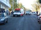 Pintor sofre descarga elétrica e cai do 4º andar de prédio em Espumoso, RS
