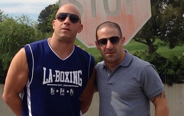 Vin Diesel e Tony Kanaan (Foto: Reprodução / Instagram)