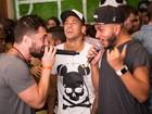 Neymar e Anitta curtem roda de samba durante evento no Rio