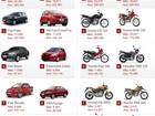Veja 10 carros e 10 motos mais vendidos em novembro de 2012
