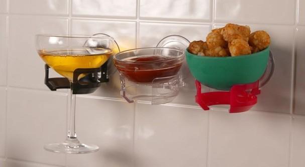 Suporte para taça de vinho (Foto: Reprodução)