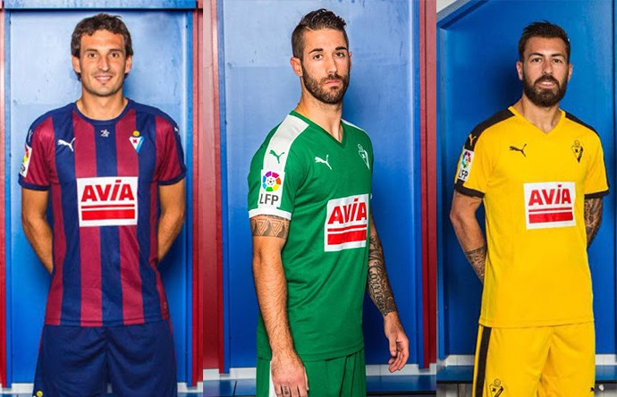 Camisas espanhol Eibar