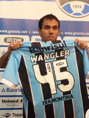 Wangler jogador Grêmio (Foto: Tomás Hammes / GLOBOESPORTE.COM)
