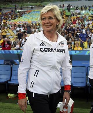 Silvia Neid Alemanha x Suécia (Foto: Reuters)