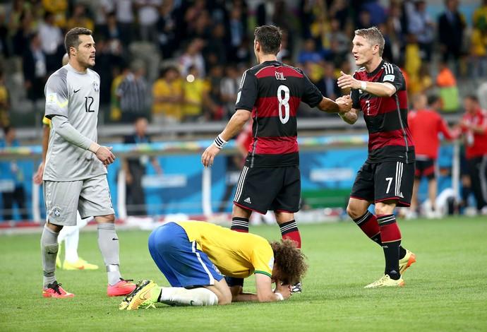 David Luiz derrota Brasil (Foto: André Durão / Globoesporte.com)