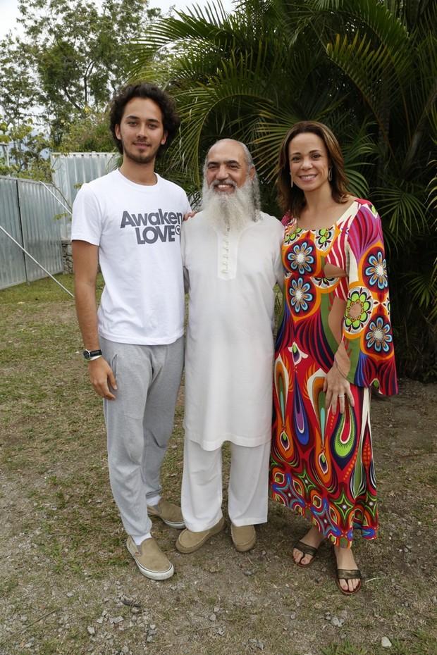 Vanessa Gerbelli e Gabriel Falcão (Foto: Felipe Assumpção / AgNews)