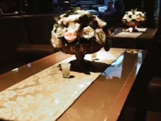 Vídeo de casamento de suspeitos da Operação Boca Livre (Foto: TV Globo/Reprodução)