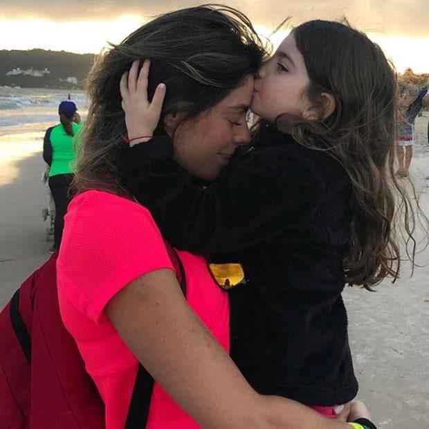 Daniela Cicarelli e a filha (Foto: Reprodução Instagram)
