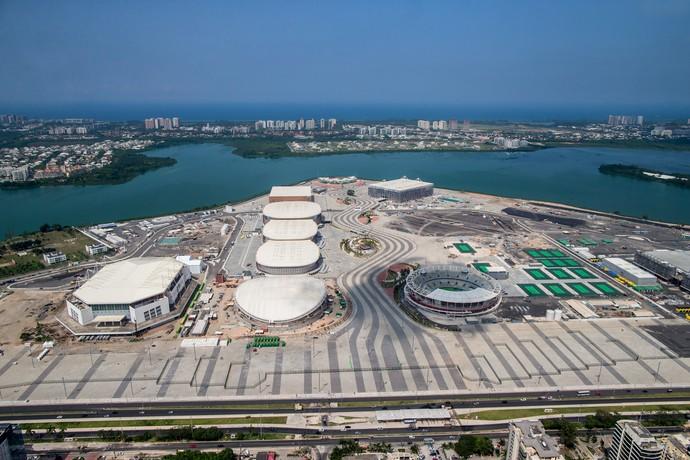 Parque Olímpico Rio 2016 - abril (Foto: Gabriel Heusi/Brasil2016.gov.br)