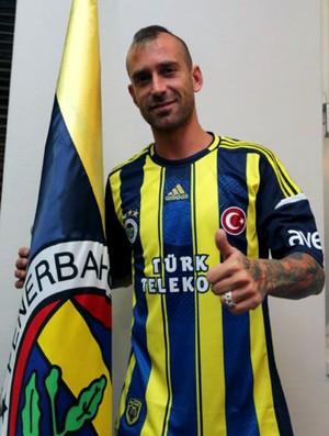 Raul Meireles Fenerbahçe (Foto: Reprodução / Site Oficial)
