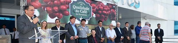 Concurso Qualidade do Café de Rondônia entrega prêmios