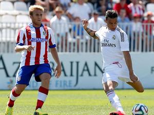 Real Madrid B contra Altético de Madrid B (Foto: Elisa Estrada / Real Madrid)