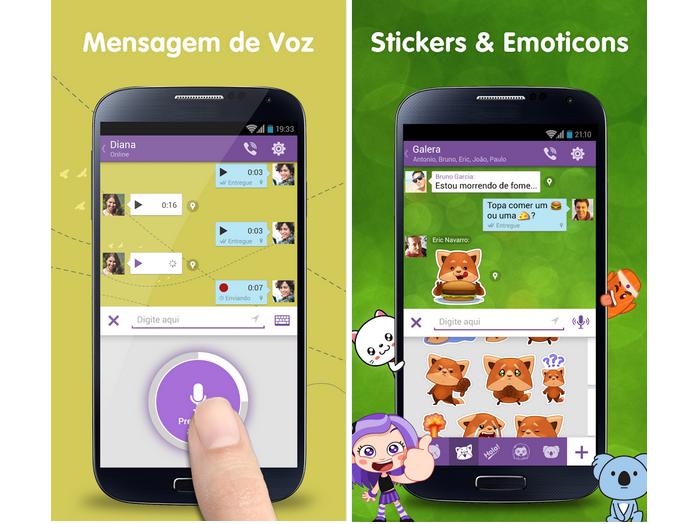 Viber é um aplicativo que permite fazer chamadas gratuitas para outros celulares (Foto: Divulgação)