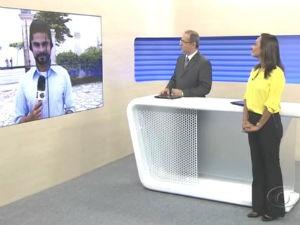 Liara Nogueira e Gilvan Nunes apresentam o BDA (Foto: Reprodução/ TV Gazeta)