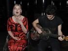 Filha de Bruce Willis e Demi Moore canta em evento em Nova York