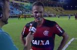 """Renê dedica seu gol para mulher e filha: """"Tava devendo há algum tempo já"""""""