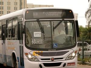 Tarifa dos ônibus em Natal subiu para R$ 2,40 (Foto: Ricardo Araújo/G1)