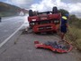 Motorista de caminhão morre após veículo tombar na BR-232, em PE