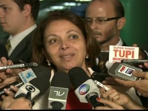 Ideli Salvatti (Foto: Reprodução Globo News)
