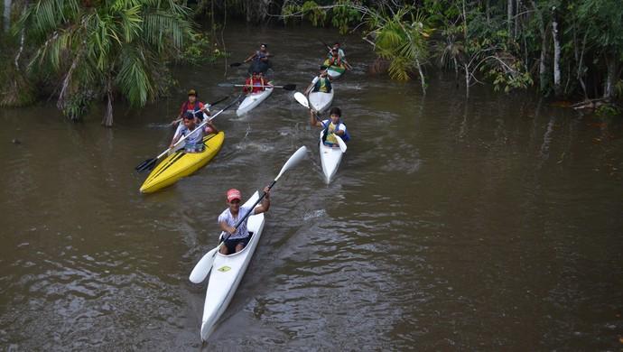 Canoagem Santarém (Foto: Weldon Luciano  - GloboEsporte.com)