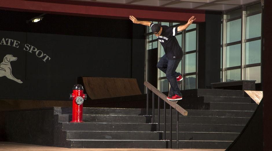 Cezar Gordo: skatista e empreendedor (Foto: Divulgação)