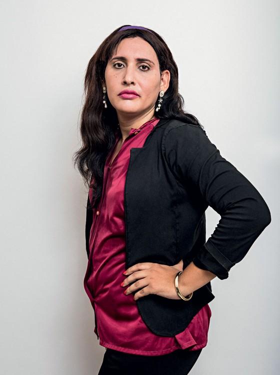 Maria Eduarda,36 anos.Iniciou sua transição aos 29 (Foto:  Daryan Dornelles/ÉPOCA)