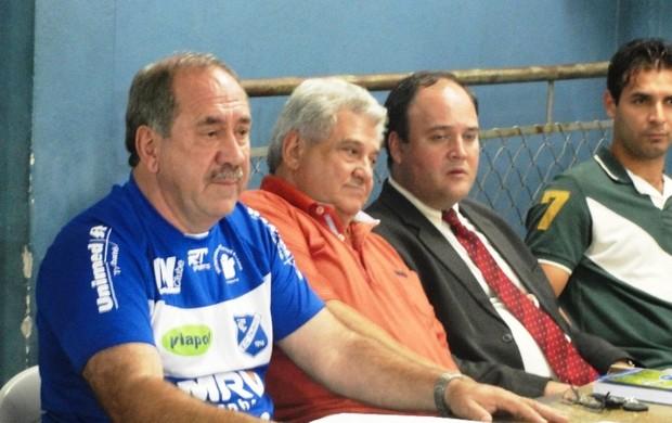 Daniel Ambrogi eleição Taubaté (Foto: Arthur Costa/ Globoesporte.com)