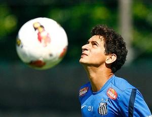 Ganso treino Santos (Foto: Ricardo Saibun / Divulgação Santos FC)