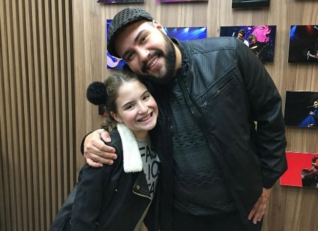 Sophia Valverde e Tiago Abravanel (Foto: Reprodução/Instagram)