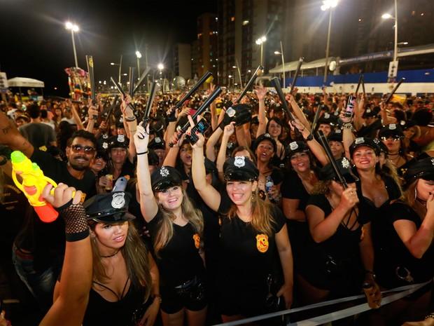 Bloco Mulheres no Comando na Barra (Foto: Mauro Zaniboni/Ag. Haack)