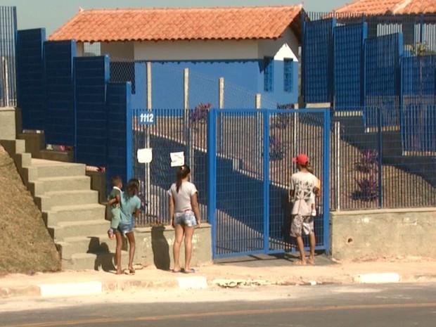 Creche inaugurada no Jardim Bassoli em Campinas (SP) (Foto: Reprodução/ EPTV)