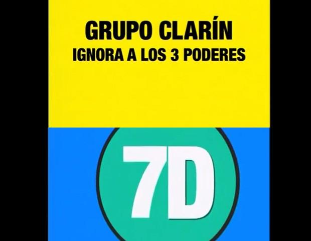 Trechos de vídeo de propaganda do governo argentino enfatiza a necessidade de que seja cumprida a lei no 7D  (Foto: Reprodução/YouTube)