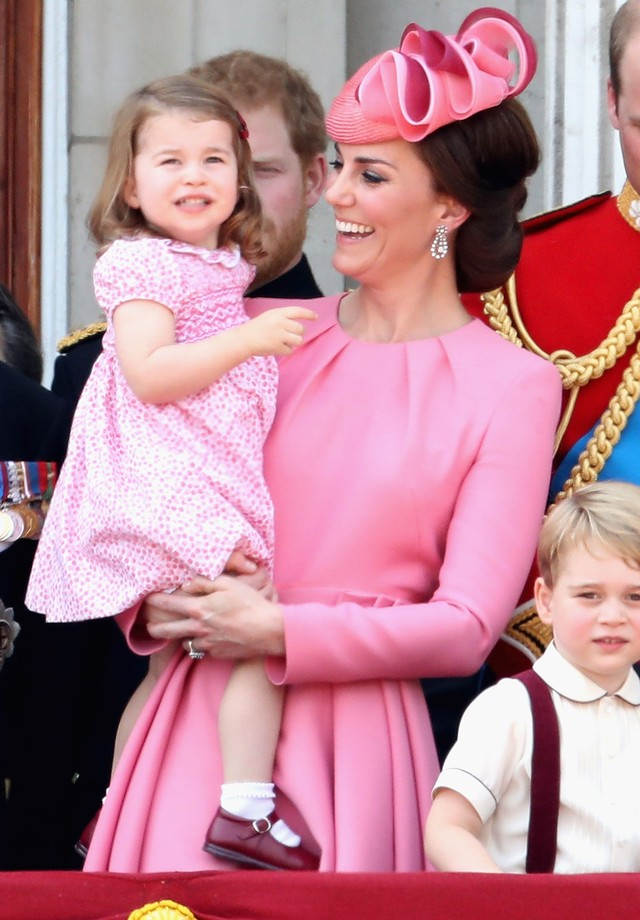Mais um vestido rosa que fez sucesso! (Foto: Getty Images)