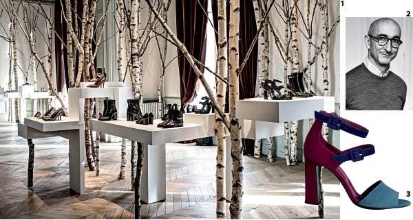 1. A coleção 2016-2017  2. O designer Pierre Hardy 3. Tons sóbrios entre os destaques  (Foto: Divulgação)