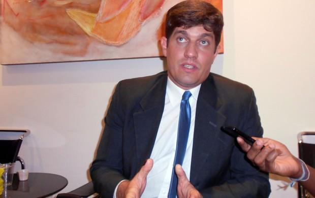 Carlos Rátis, interventor do Bahia (Foto: Thiago Pereira)