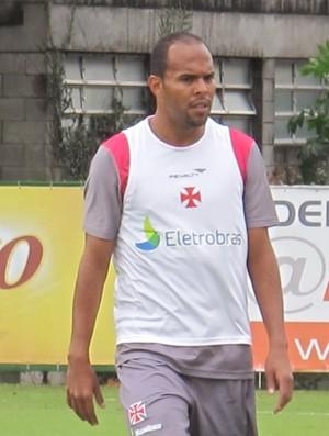 Alecsandro no treino do Vasco (Foto: Gustavo Rotstein / Globoesporte.com)