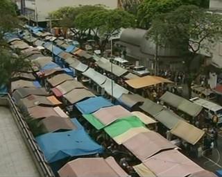 Feira livre de Volta Redonda completa 61 anos este mês (Foto: Reprodução Bom Dia Rio)