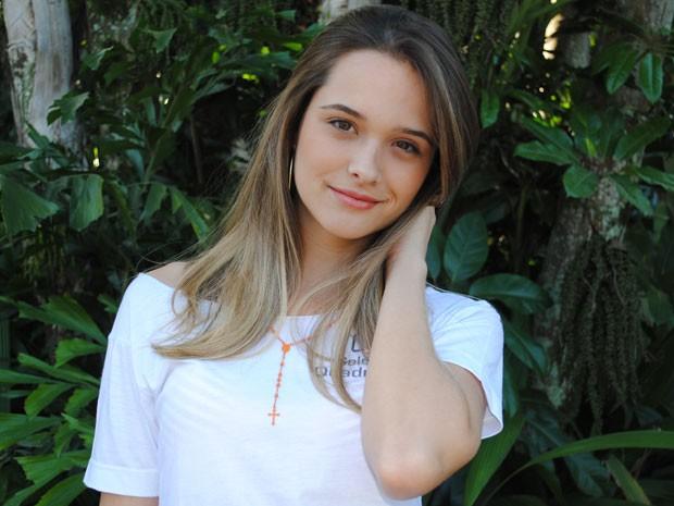 Juliana Paiva já fez teatro, tv e até cinema! (Foto: Malhação / Tv Globo)
