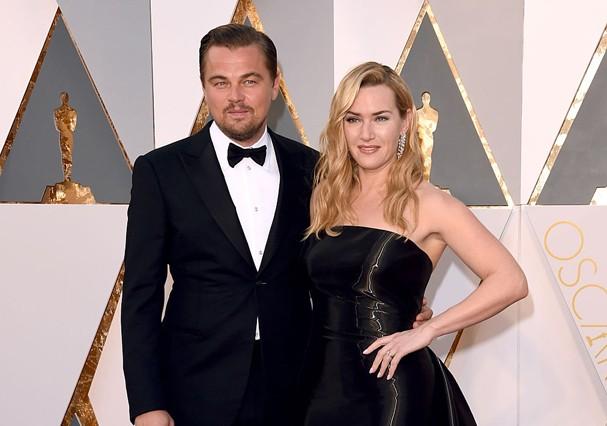 Leonardo DiCaprio e Kate Winslet vivem romance (Foto: Getty Images)