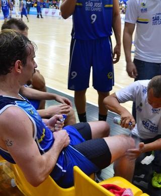 Cauê Verzola ala-armador São José Basquete (Foto: Felipe Kyoshy/GloboEsporte.com)