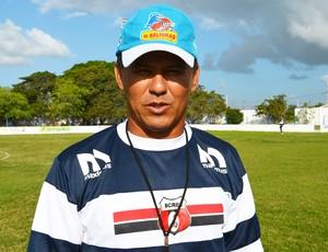 ramiro sousa, técnico do santa cruz-pb, técnico do santa cruz de santa rita (Foto: Lucas Barros / Globoesporte.com/pb)