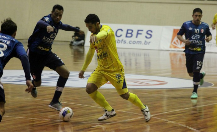 Joinville Futsal, São José Futsal, Liga Nacional de Futsal (Foto: Quarttus Marketing/Divulgação)