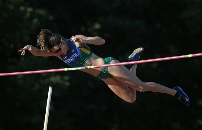 Pan de Toronto salto com vara Fabiana Murer Brasil (Foto: Julio Cortez / AP)
