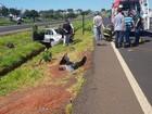 Acidente entre dois carros deixa feridos (Notícias Noroeste)