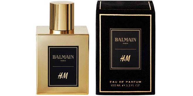 A fragrância da parceria entre Balmain e H&M (Foto: Divulgação)