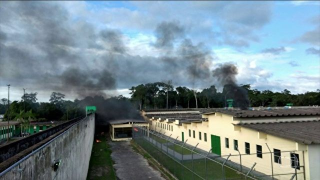 presídio Manaus_JH (Foto: TV Globo)