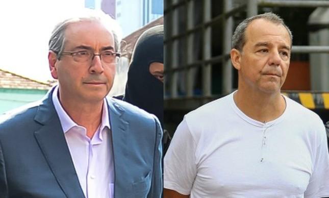 Resultado de imagem para Eduardo Cunha e Sergio Cabral